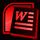 Logo word sr